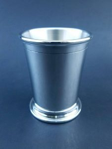 Pewter Sterling Silver Mint Julep Cups
