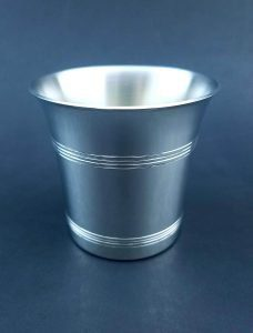 Carolina Pewter Sterling Silver Mint Julep Cups