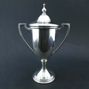 Meandros Trophy Loving Cup in silver or pewter (TR700 Series)