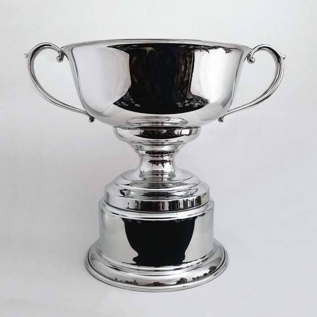 Pewter Trophy Bowl with Base