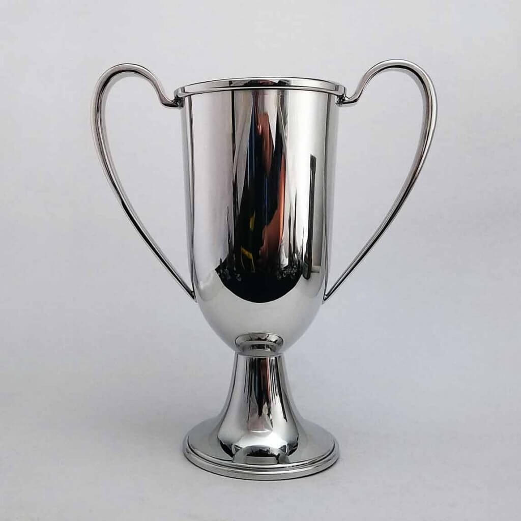 Pewter Trophy Loving Cup